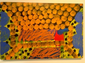 One of my favourite Howard Hodgkins
